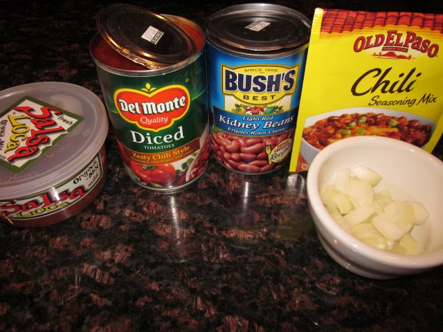easy mexican chili -a caffeinated brunette blog