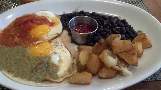 Huevos Rancheros at The Cafeteria in Boston
