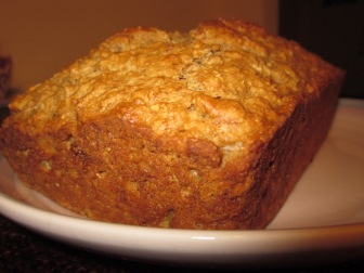 peanut butter banana bread recipe -a caffeinated brunette