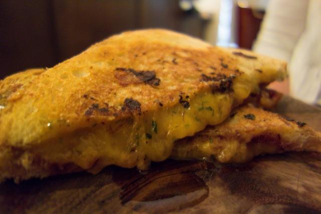 Heywoods grilled cheeses -acaffeinatedbrunette.com